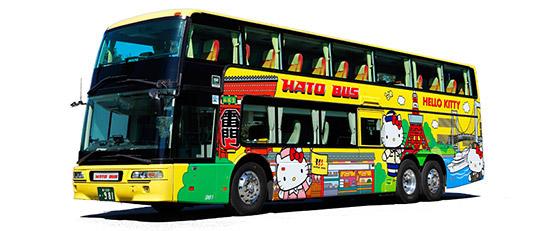 ハローキティバス(2階建て)