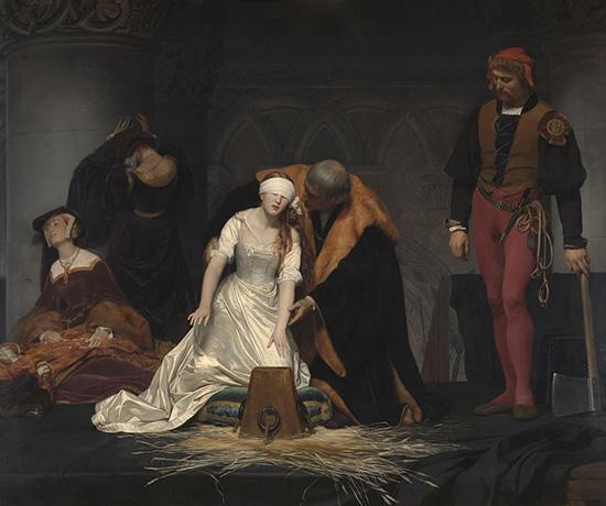 ポール・ドラローシュ 《レディ・ジェーン・グレイの処刑》