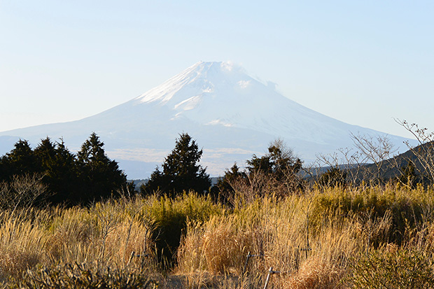 十国峠より富士を望む