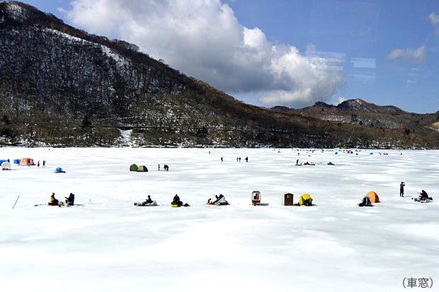 赤城山・大沼湖