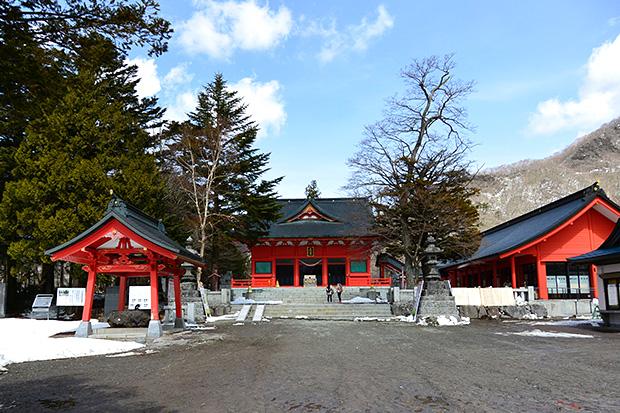 赤城神社・全景