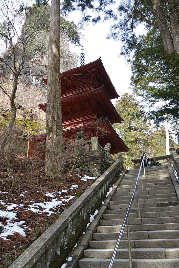 榛名神社・三重塔