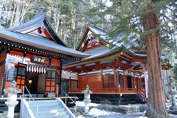 祖霊社と国常立神社