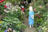 不思議の国のアリスの庭