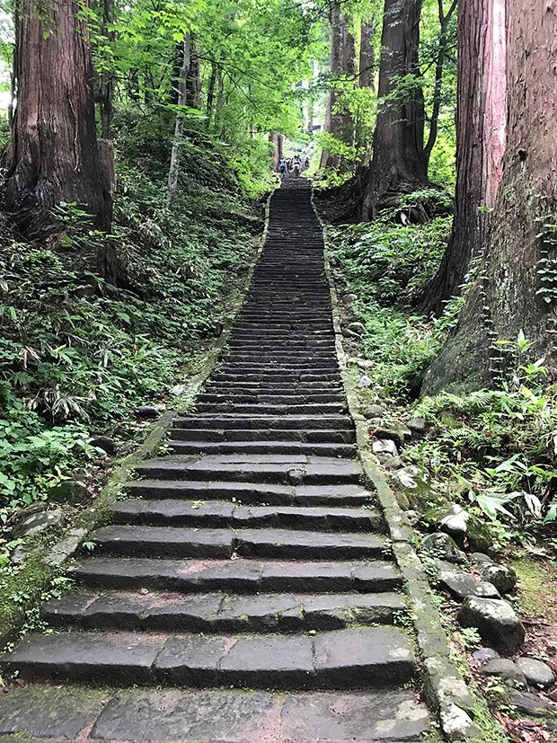 羽黒山・一ノ坂