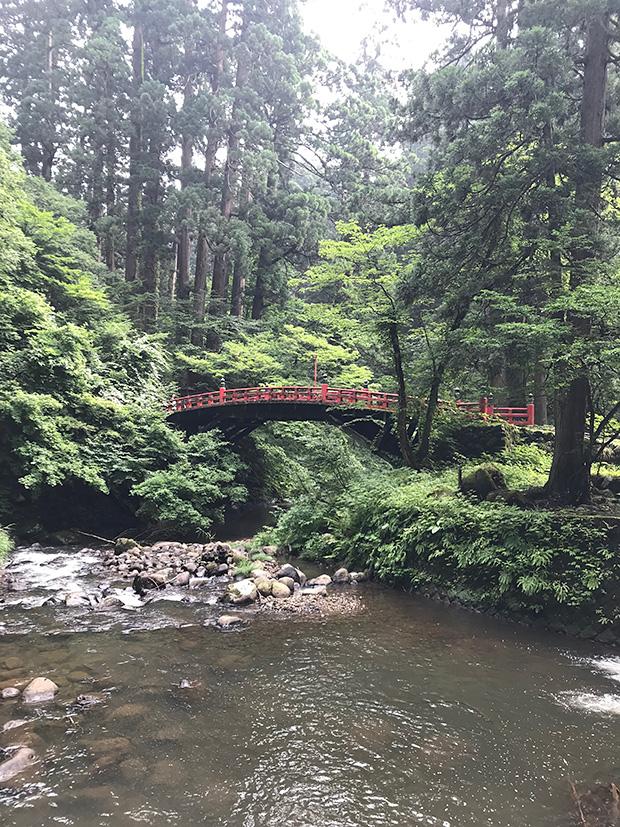 羽黒山・神橋