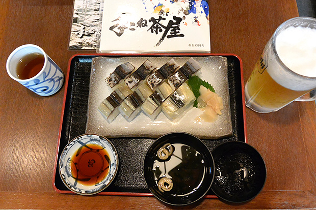さんま二種寿司