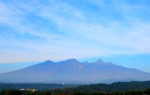 南から見た八ヶ岳