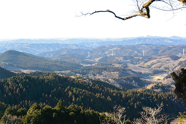 御岩山、山頂からの眺め
