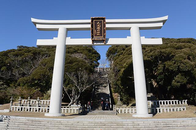 大洗磯前神社・第二の鳥居