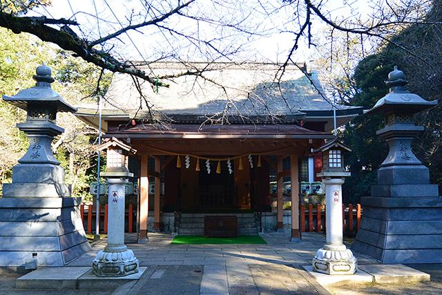 息栖神社・社殿(拝殿)