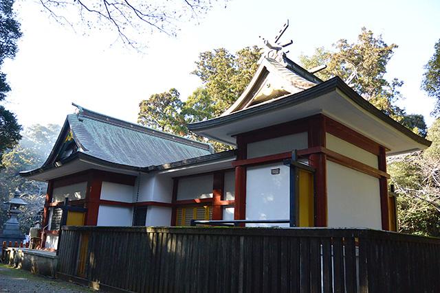 息栖神社・社殿(本殿)