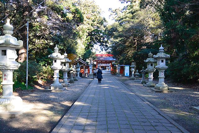 息栖神社・参道