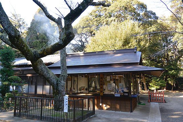 息栖神社・社務所