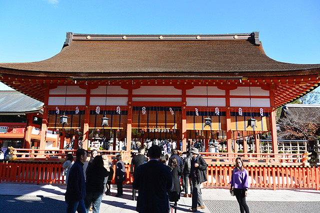 伏見稲荷大社・外拝殿