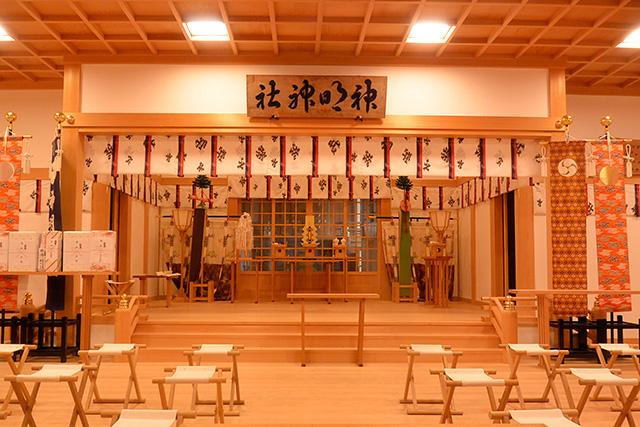 神明神社・本殿
