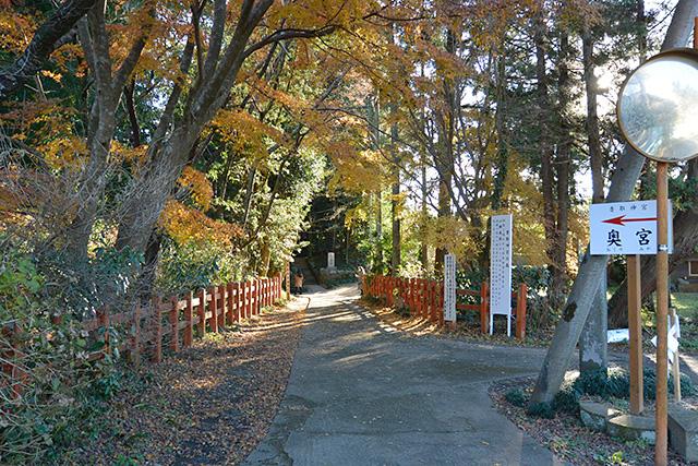 鹿島神宮・旧参道から奥宮へ