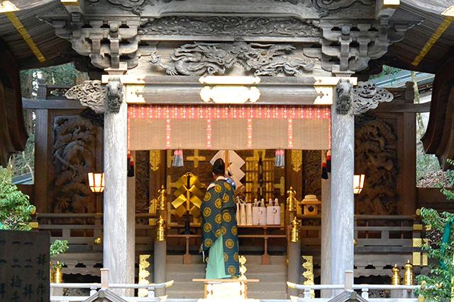 諏訪大社・上社本宮の神事