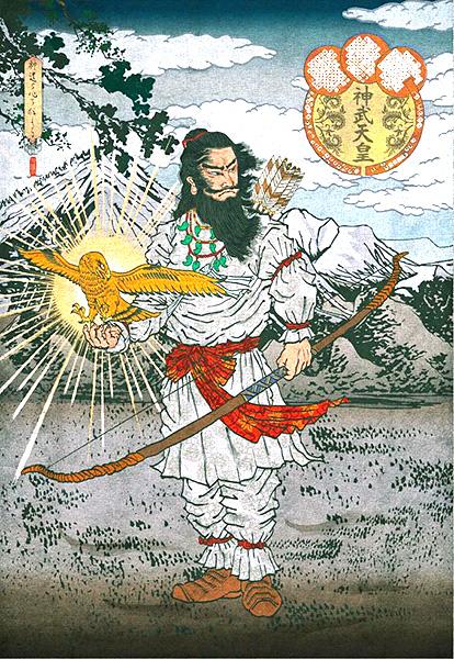 神武天皇による日本建国を導いた金鵄