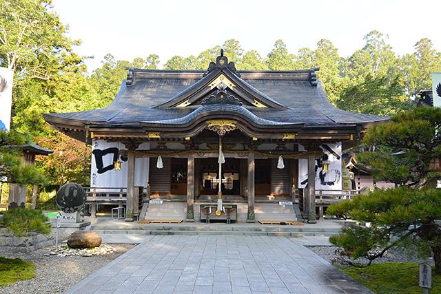 熊野本宮大社・拝殿