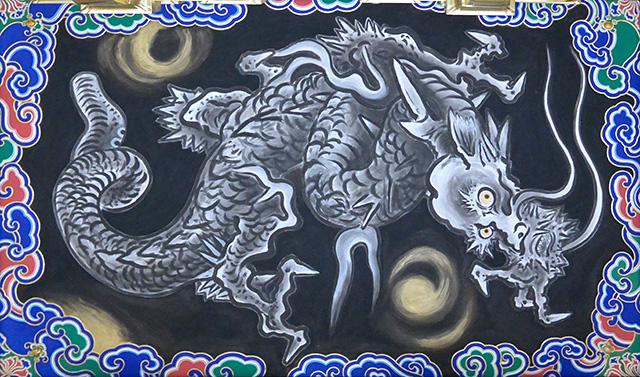 日光東照宮・陽明門の天井画