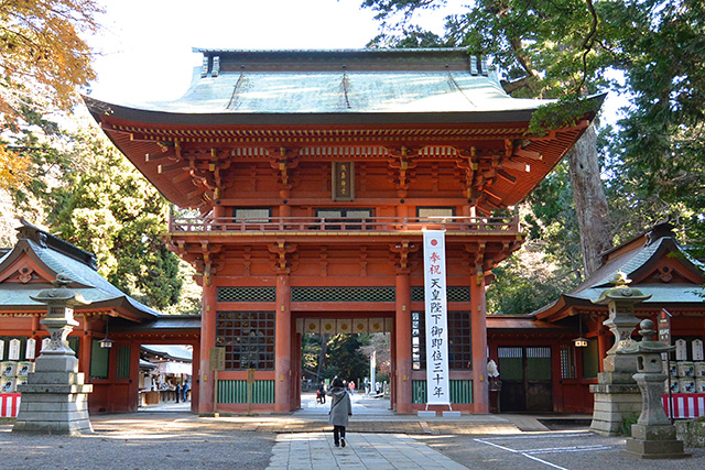 鹿島神宮の楼門