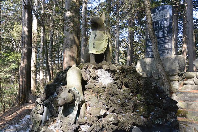 三峯神社の遠宮(お仮屋)