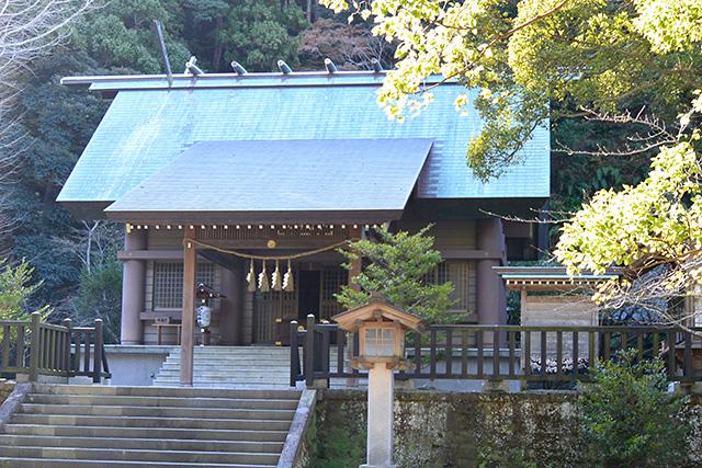 安房神社・上の宮