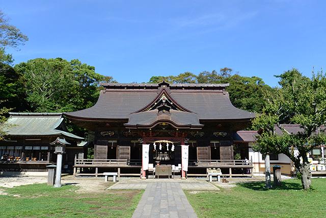 大洗磯前神社・社殿