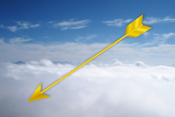 アメノワカヒコに賜った矢
